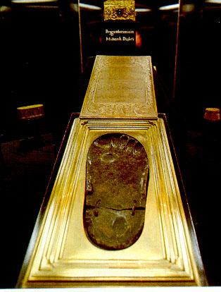 Muhammad's footprint